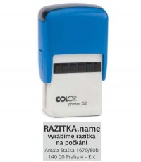 Razítko Colop printer 52